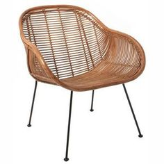 Marvelous Rattan Scoop Armchair In Natural Awesome Ideas