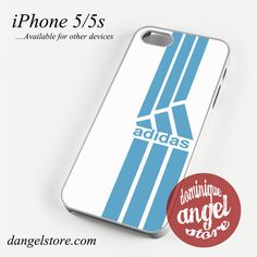 blue straight sport adidas Phone case for iPhone 4/4s/5/5c/5s/6/6 plus