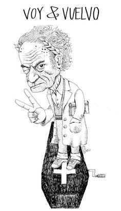 Tinta Chilena: PREMIO A DON NICA Male Sketch, Art, Figures