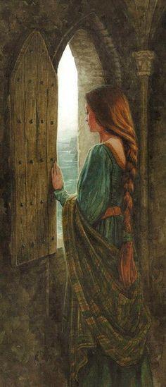 """The Names upon the Harp"" (c) P.J. Lynch Eithlinn"