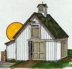 Small Barn Plans | Building My Small Barn | ThinMan's Blog