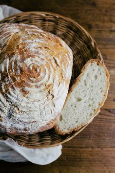 """A Simple Boule, from the French for """"ball"""", is a traditional shape of French bread, resembling a squashed ball. It is a rustic loaf shape that can be made of any type of flour."""