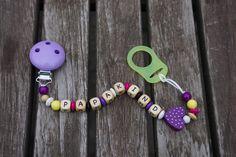"Schnullerkette ""Papakind"" von Wiesenfuchs auf DaWanda.com Washer Necklace, Etsy, Jewelry, Kids, Jewlery, Jewerly, Schmuck, Jewels, Jewelery"