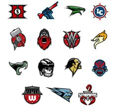 My sports logos by gynemeth78.deviantart.com on @deviantART