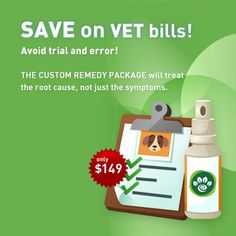 Natural and Homeopathic remedies for pets. A custom homeopathic remedy is a formula designed for your pet only, based on a his personal health history, conditions and needs. We use the information acquired from the evaluation to create the best remedy possible for your pet.