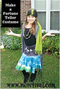 Homemade Fortune Teller Costume