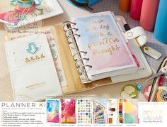 Webster's Pages New Personal Planners, Color Crushing on Classic White!