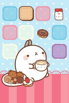 Molang wallpaper :3