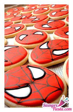 Increíbles ideas una fiesta de cumpleaños de Spiderman (el Hombre Araña). Encuentra todos los artículos para tu fiesta en nuestra tienda en línea: http://www.siemprefiesta.com/fiestas-infantiles/ninos/articulos-spiderman-4.html?utm_source=Pinterest&utm_medium=Pin&utm_campaign=Spiderman