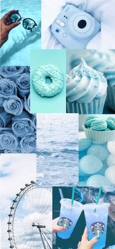 Light blue aesthetic