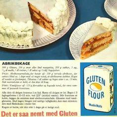 Abrikoskage nr R. Vintage Recipes, Vintage Food, Danish Food, Sweets Cake, Dinner Is Served, Food Cakes, Cake Recipes, French Toast, Goodies