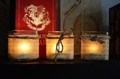 BIY - Kerzen - Buch-Windlicht