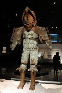 México. Guerrero Aguila (Azteca) Museo Zona Arqueológica del Templo Mayor. Tenochtitlán.