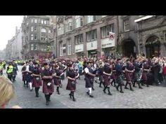 Edinburgh Military Tattoo 2016 - Act 1 - Massed Pipes and Drums enter - YouTube