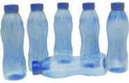 Princeware Daisy Pet Bottle Set, Set of 6, 1000ml, Blue At Rs.165