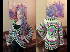20 Crochet Sweater / Cardigan DIY Video Tutorials | 1001 Crochet