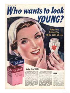 vintage skin care ads | ... Vintage ads 1930's on Pinterest | Vintage ads, Face skin and Ginger