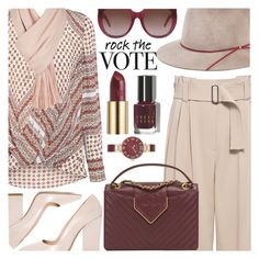 """""""ROCK THE VOTE"""" by shoaleh-nia ❤ liked on Polyvore featuring 10 Crosby Derek Lam, Dee Keller, A.L.C., Eugenia Kim, Free People, Chanel, Bobbi Brown Cosmetics, Urban Decay, Yves Saint Laurent and Anne Klein"""