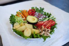 Yummy salad. (photo credit to @hclfveganlady on Tumblr)