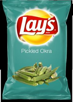 Pickled Okra Lay's
