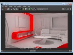 Maya: Indirect Lighting for Interiors - YouTube