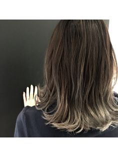 Medium Straight Haircut, Medium Hair Cuts, Medium Hair Styles, Long Hair Styles, Messy Bob Hairstyles, Hairstyles For Round Faces, Wavy Hair, Dyed Hair, Wedding Hair Colors