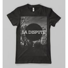 La Dispute - Trees shirt | Hellfish Family found on Polyvore