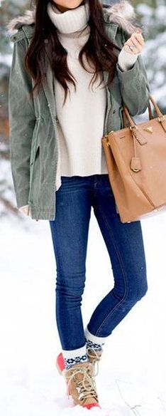 Loving this Winter Look!