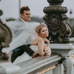 Gorgeous wedding in Paris - Alexandre III bridge. Wedding photoshoot in France. #philarty #weddingphotoshoot #weddinginspiration #pariswedding #weddingphotographer #pariselopement #parisphotoshoot #parisphotographer #photographerinparis #elopement #destinationphotographer #bestparislocations #parislocations #bestviewsofparis #topparisviews #topparisphotographers #destinationphotographer #weddingideas Paris Elopement, Paris Wedding, Wonderful Picture, Paris Photos, Wedding Photoshoot, Weddingideas, Most Beautiful, Bridge, Bro