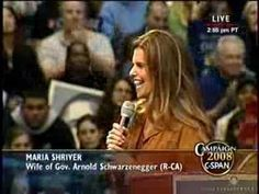 LA Rally: Maria Shriver Announces Her Support for Barack