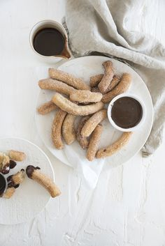churros with chocolate sauce | designlovefest