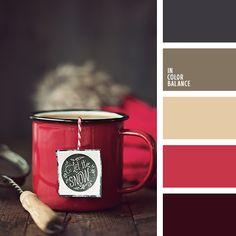 IN COLOR BALANCE | Подбор цвета House Color Schemes, Colour Schemes, House Colors, Color Patterns, Color Combinations, Kitchen Color Schemes, Winter Colors, Warm Colors, Colours