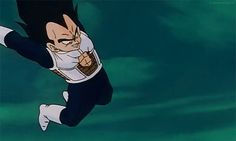 I can't stand Vegeta, but I love the way this was animated.