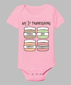 'My 1st Thanksgiving' Onesie.