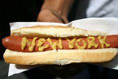 NY hotdogs - Sabretts! #NYCLove #VSPINK