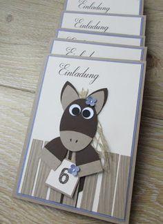 Vor 2 Jahren ist eine Mami über meinen Blog gestolpert und seitdem habe ich Geburtstagskarten und Girlanden für diverse Geburtstage angefert...