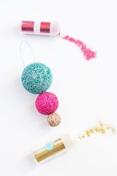 24 DIY Christmas Ornaments to Start Making Now via Brit   Co