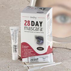28-Day Mascara, Long Lasting Mascara, Eye Makeup | Solutions 28day mascara, eyelashes, mascaras, colors, month longwith, beauti eyelash, cosmetology, black, mascara beauti