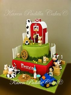 Farm Cake By KarenPadilla on CakeCentral.com