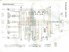 simple motorcycle wiring diagram for choppers and cafe racers 1983 kawasaki kz750 h4 wiring diagram highly utilized during wiring and harness install