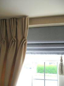 Trible pinch pleat Burlap Curtain Panel Pre by MadeInBurlap