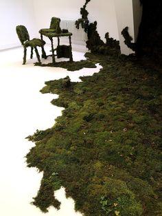 Katarzyna Kot-Bach Installation Art, Art Installations, Painting On Photographs, Natural Form Art, Sea Sculpture, Shiva Art, Plant Art, Environmental Art, Landscape Architecture