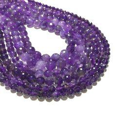 Statement Necklace Design Beads ! Huge 50 Bead Strand Czech Glass 6x9mm AMETHYST PURPLE Teardrop Beads