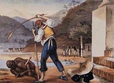 Escravidao no Brasil - Jean-Baptiste Debret