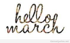 Hello march picture 2014