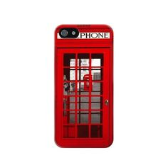 Classic British Red Telephone Box Case