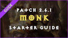 Monk Starter Guide (Season 12   Patch 2.6.1) #Diablo #blizzard #Diablo3 #D3 #Dios #reaperofsouls #game #players