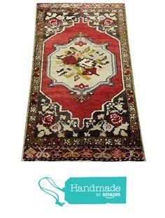 Handmade Turkish doormat handwoven bath mat small rug Boho rug Turkish rug welcome mat bathroom rug 3,7x1,7 feet / 45x22 inches http://www.amazon.com/dp/B01AGFP8NC/ref=hnd_sw_r_pi_dp_2V7Kwb1AQ46XA #handmadeatamazon