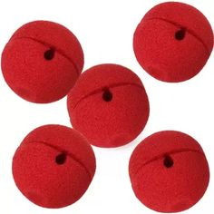 5 x Red Foam Clown Nose Costume Party Fancy Dress Cosplay BF Clown Nose, Carnival Games, Cosplay, Cool Pets, Fancy Dress, Photo Booth, Kids Rugs, Costumes, Toys
