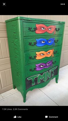 Ninja turtles dresser for my lovie